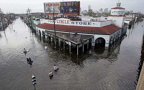 Aftermath of Katrina